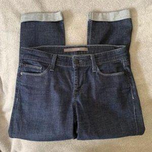 """Joe's """"Socialite Kicker"""" Capri Cropped Jeans Sz 26"""